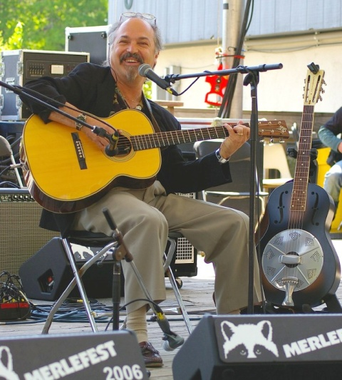 Paul Asbell at MerleFest 2006