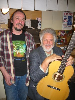 Julius Borges and Peter Rowan
